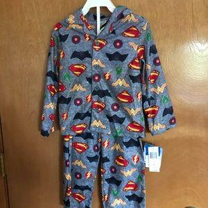DC Comics Justice League 4t Boy's 2 pc. Pajamas